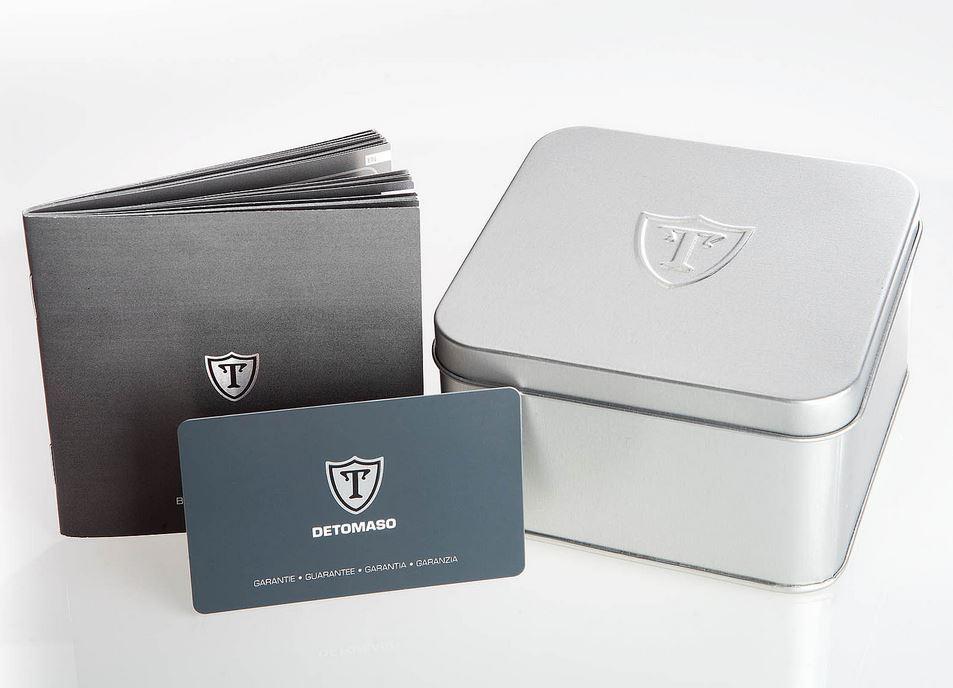 Všechny modely DETOMASO a YVES CAMANI jsou baleny v elegantní dárkové  krabičce se záruční kartou s hologramem pravosti. 4742fbcd24b