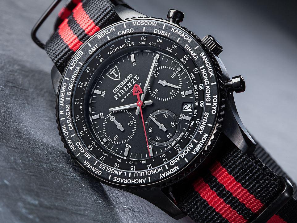 Pánské hodinky Detomaso Firenze - Stripe B R  7b86133555