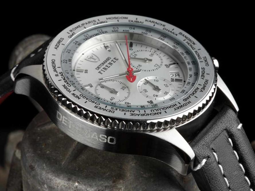 a9601532799 Pánské hodinky Detomaso Firenze - stříbrné