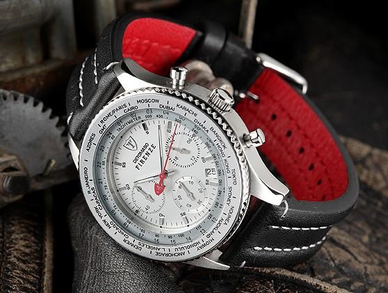 Pánské hodinky Detomaso Firenze - stříbrné empty 0742d68ca80