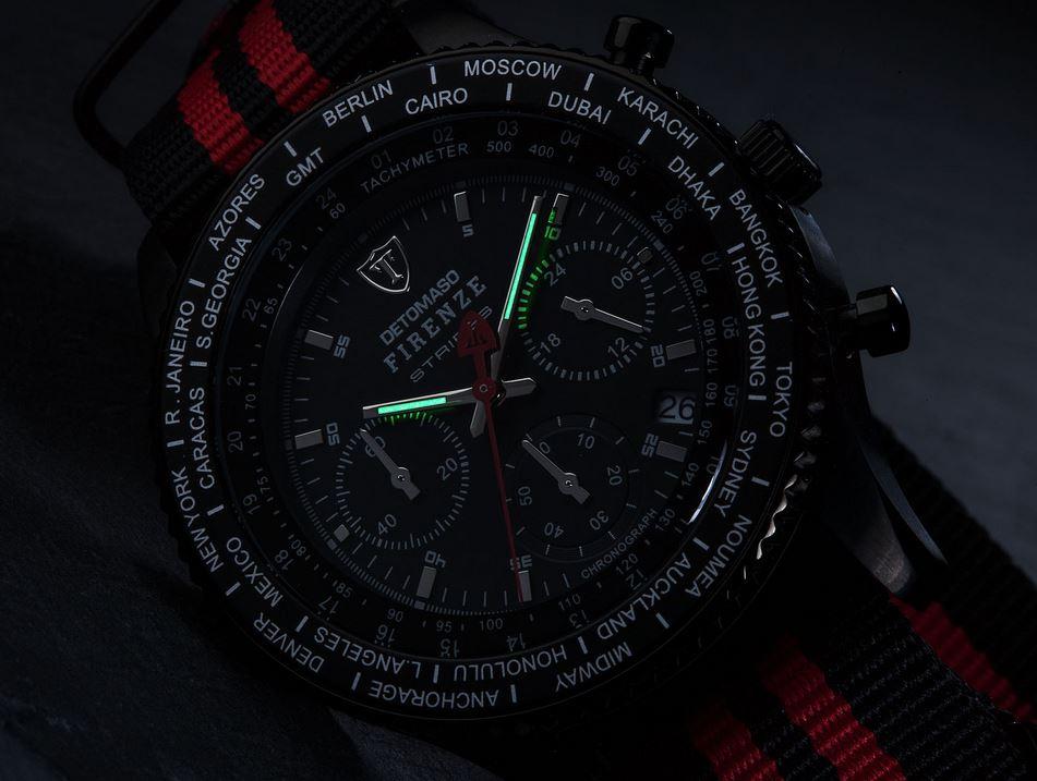 Pánské hodinky Detomaso Firenze - Stripe B R  11c1ccc4906